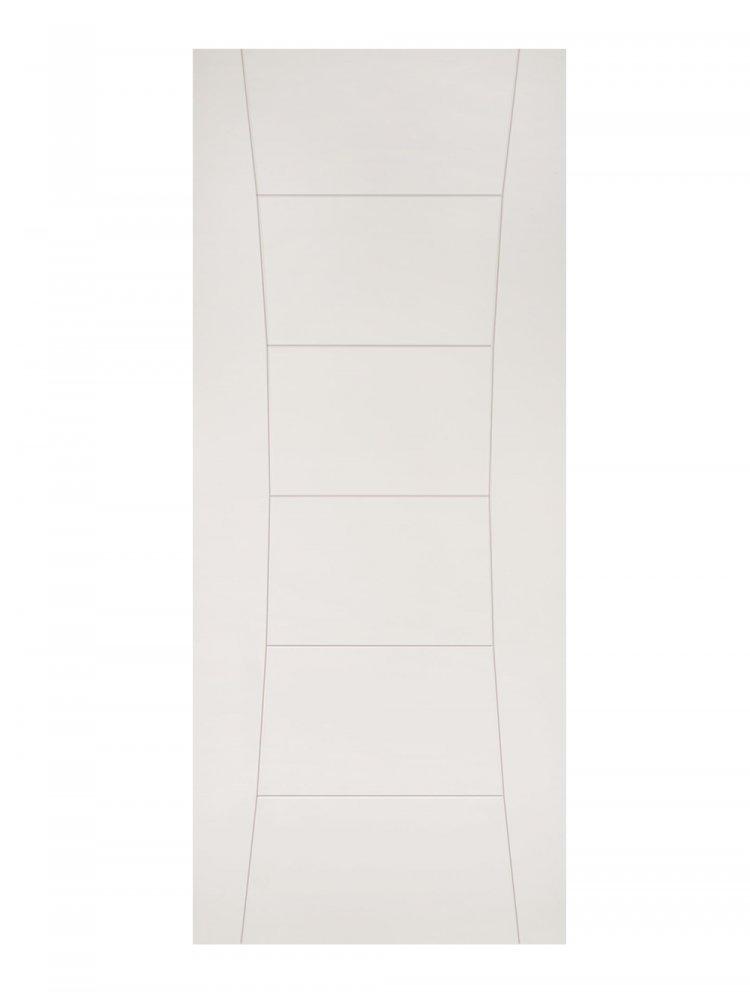 Deanta Pamplona White Primed Internal Door