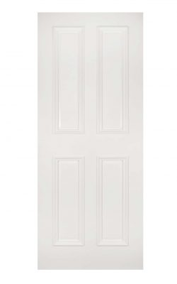 Deanta Rochester White Primed FD30 Fire DoorDeanta Rochester White Primed FD30 Fire Door