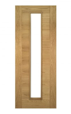 Deanta Seville Prefinished Oak 1L Glazed FD30 Fire DoorDeanta Seville Prefinished Oak 1L Glazed FD30 Fire Door
