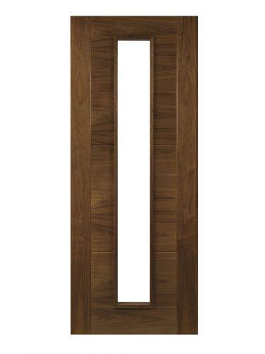 Deanta Seville Prefinished Walnut Unglazed Internal  Door