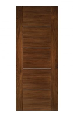 Deanta Valencia Prefinished Walnut FD30 Fire DoorDeanta Valencia Prefinished Walnut FD30 Fire Door