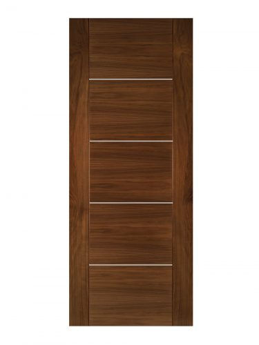 Deanta Valencia Prefinished Walnut Internal Door