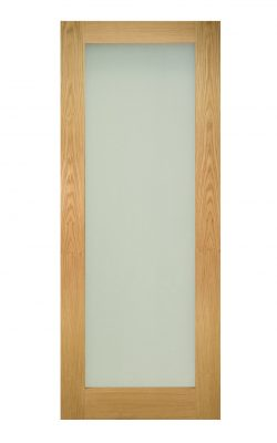 Deanta Walden Unfinished Oak Frosted Internal Glazed DoorDeanta Walden Unfinished Oak Frosted Internal Glazed Door