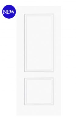 LPD White Moulded Smooth Bruges 2-Panel FD30 Fire DoorLPD White Moulded Smooth Bruges 2-Panel FD30 Fire Door