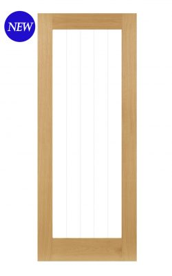 Deanta Ely Prefinished Oak Internal Glazed Door (1L Full)Deanta Ely Prefinished Oak Internal Glazed Door (1L Full)