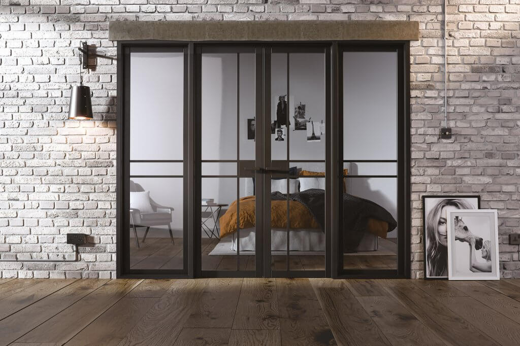 Greenwich Room Dividers internal glazed doors