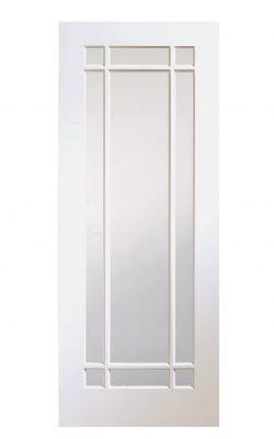 XL Joinery Cheshire White Primed Clear Internal Glazed DoorXL Joinery Cheshire White Primed Clear Internal Glazed Door