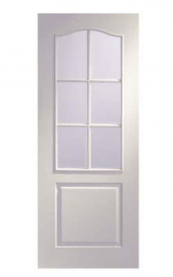 XL Joinery Classique 6 Light White Moulded Bevelled Glass Clear Internal Glazed DoorXL Joinery Classique 6 Light White Moulded Bevelled Glass Clear Internal Glazed Door