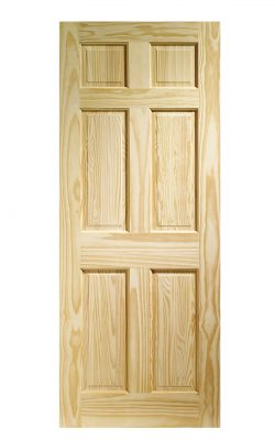 XL Joinery Colonial 6 Panel Internal Clear Pine DoorXL Joinery Colonial 6 Panel Internal Clear Pine Door