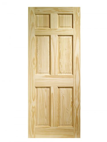 XL Joinery Colonial 6 Panel Clear Pine Internal Door