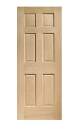 XL Joinery Colonial 6 Panel Oak Internal DoorXL Joinery Colonial 6 Panel Oak Internal Door