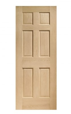 XL Joinery Colonial 6 Panel Oak FD30 Fire DoorXL Joinery Colonial 6 Panel Oak FD30 Fire Door