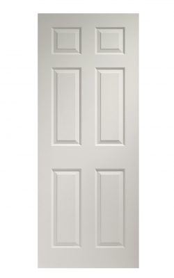 XL Joinery Colonist 6 Panel Internal Pre-Finished White Moulded DoorXL Joinery Colonist 6 Panel Internal Pre-Finished White Moulded Door