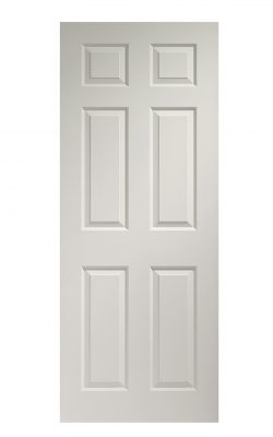 XL Joinery Colonist 6 Panel White Moulded Internal DoorXL Joinery Colonist 6 Panel White Moulded Internal Door