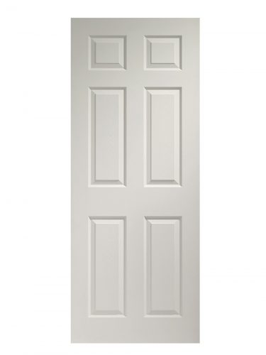 XL Joinery Colonist 6 Panel White Moulded Internal Door