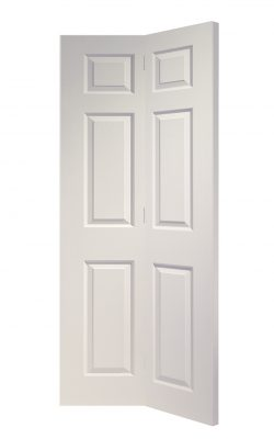 XL Joinery Colonist 6 Panel Bi-Fold White Moulded Internal DoorXL Joinery Colonist 6 Panel Bi-Fold White Moulded Internal Door