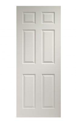 XL Joinery Colonist 6 Panel Internal White Moulded Fire DoorXL Joinery Colonist 6 Panel Internal White Moulded Fire Door