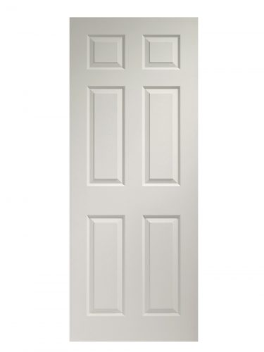 XL Joinery Colonist 6 Panel White Moulded FD30 Fire Door