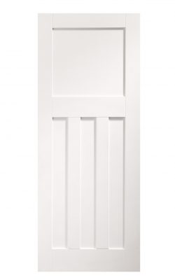 XL Joinery DX 1930's White Primed FD30 Fire DoorXL Joinery DX 1930's White Primed FD30 Fire Door