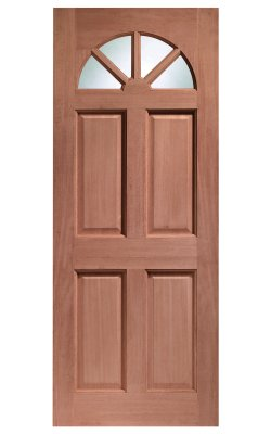 XL Joinery Carolina Single Glazed Hardwood (Dowelled) Clear Glazed External DoorXL Joinery Carolina Single Glazed Hardwood (Dowelled) Clear Glazed External Door