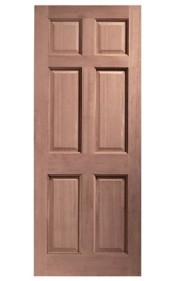 XL Joinery Colonial 6 Panel Hardwood (Dowelled) External DoorXL Joinery Colonial 6 Panel Hardwood (Dowelled) External Door