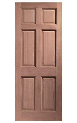 XL Joinery Colonial 6 Panel Hardwood (Dowelled) External DoorXL Joinery Colonial 6 Panel Hardwood (Dowelled) External Door