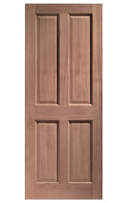 XL Joinery London 4 Panel Hardwood (Dowelled) External DoorXL Joinery London 4 Panel Hardwood (Dowelled) External Door