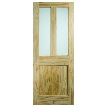 XL Joinery Malton Clear Pine (Dowelled) Flemish Glass Glazed External Door