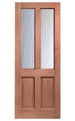 XL Joinery Malton Double Glazed Hardwood (Dowelled) Frosted Glazed External DoorXL Joinery Malton Double Glazed Hardwood (Dowelled) Frosted Glazed External Door