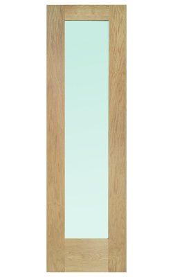 XL Joinery Pattern 10 Double Glazed Oak (Dowelled) Frosted Glazed Sidelight External DoorXL Joinery Pattern 10 Double Glazed Oak (Dowelled) Frosted Glazed Sidelight External Door