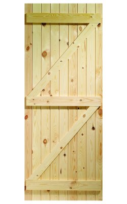 XL Joinery Ledged & Braced External Pine Gate or Shed DoorXL Joinery Ledged & Braced External Pine Gate or Shed Door