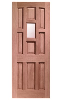 XL Joinery York Single Glazed Hardwood (Dowelled) Frosted Glazed External DoorXL Joinery York Single Glazed Hardwood (Dowelled) Frosted Glazed External Door