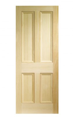 XL Joinery Edwardian 4 Panel Vertical Grain Clear Pine Internal DoorXL Joinery Edwardian 4 Panel Vertical Grain Clear Pine Internal Door