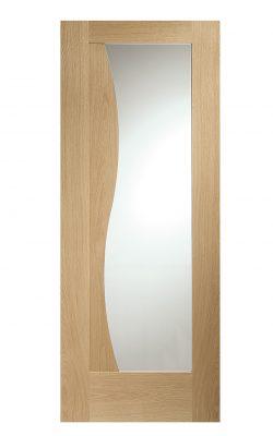 XL Joinery Emilia Internal Oak Door with Clear GlassXL Joinery Emilia Internal Oak Door with Clear Glass