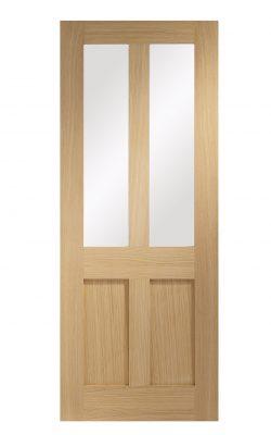 XL Joinery Malton Shaker Oak Clear Internal Glazed DoorXL Joinery Malton Shaker Oak Clear Internal Glazed Door