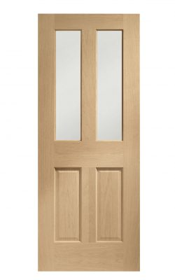 XL Joinery Malton Pre-Finished Oak Bevelled Glass Clear Internal Glazed DoorXL Joinery Malton Pre-Finished Oak Bevelled Glass Clear Internal Glazed Door