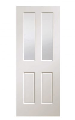 XL Joinery Malton Pre-Finished White Bevelled Glass Clear Internal Glazed DoorXL Joinery Malton Pre-Finished White Bevelled Glass Clear Internal Glazed Door