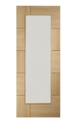 XL Joinery Messina Internal Oak Door with Obscure GlassXL Joinery Messina Internal Oak Door with Obscure Glass
