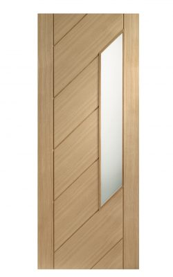 XL Joinery Monza Internal Oak Door with Obscure GlassXL Joinery Monza Internal Oak Door with Obscure Glass