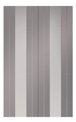 XL Joinery Forli Pre-Finished Light Grey Internal Clear Glazed Door PairXL Joinery Forli Pre-Finished Light Grey Internal Clear Glazed Door Pair