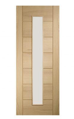 XL Joinery Palermo Original 1 Light Internal Oak Door with Clear GlassXL Joinery Palermo Original 1 Light Internal Oak Door with Clear Glass