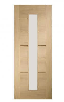 XL Joinery Palermo Original Pre-Finished 1 Light Internal Oak Door with Clear GlassXL Joinery Palermo Original Pre-Finished 1 Light Internal Oak Door with Clear Glass
