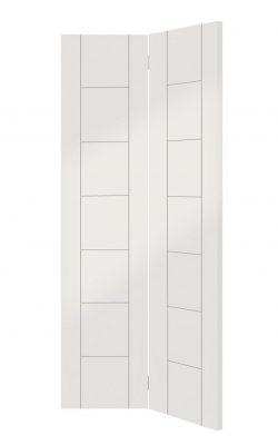 XL Joinery Palermo White Primed Bi-Fold Internal DoorXL Joinery Palermo White Primed Bi-Fold Internal Door