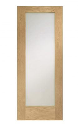 XL Joinery Pattern 10 Oak Frosted Internal Glazed DoorXL Joinery Pattern 10 Oak Frosted Internal Glazed Door