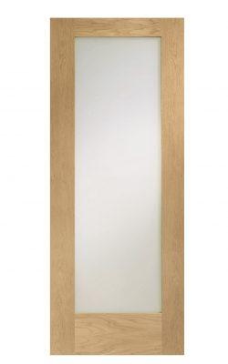 XL Joinery Pattern 10 Pre-Finished Internal Oak Door with Obscure GlassXL Joinery Pattern 10 Pre-Finished Internal Oak Door with Obscure Glass