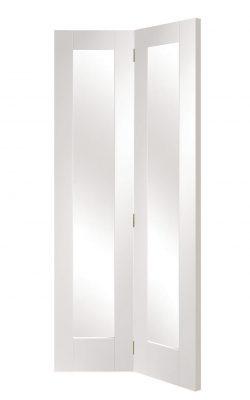 XL Joinery Pattern 10 White Primed Bi-Fold Internal DoorXL Joinery Pattern 10 White Primed Bi-Fold Internal Door