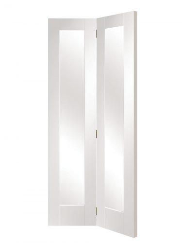 XL Joinery Pattern 10 White Primed Bi-Fold Internal Door