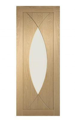 XL Joinery Pesaro Internal Oak Door with Clear GlassXL Joinery Pesaro Internal Oak Door with Clear Glass