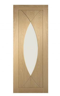 XL Joinery Pesaro Pre-Finished Internal Oak Door with Clear GlassXL Joinery Pesaro Pre-Finished Internal Oak Door with Clear Glass