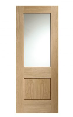 XL Joinery Piacenza Internal Oak Door with Clear GlassXL Joinery Piacenza Internal Oak Door with Clear Glass